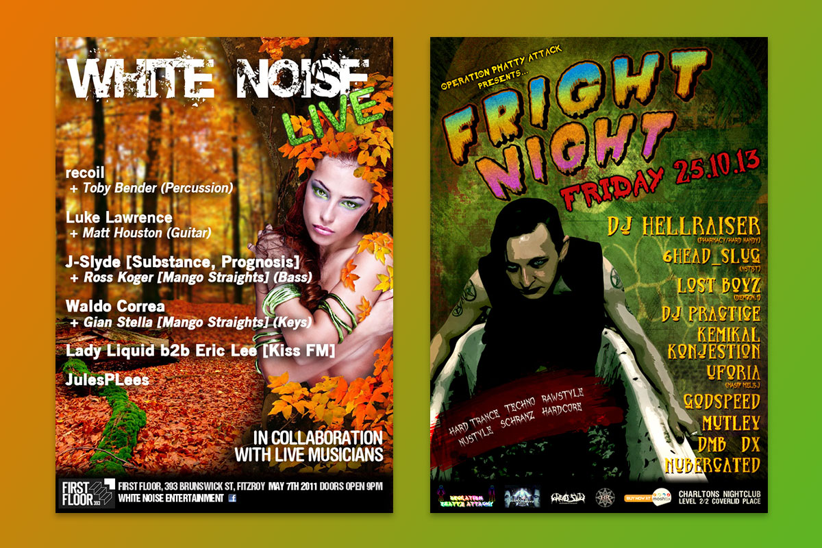 White Noise Live - Fright Night - GermyDesigns