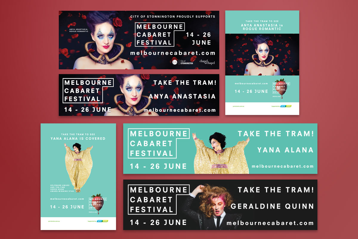 Melbourne Cabaret Festival 2016 - GermyDesigns