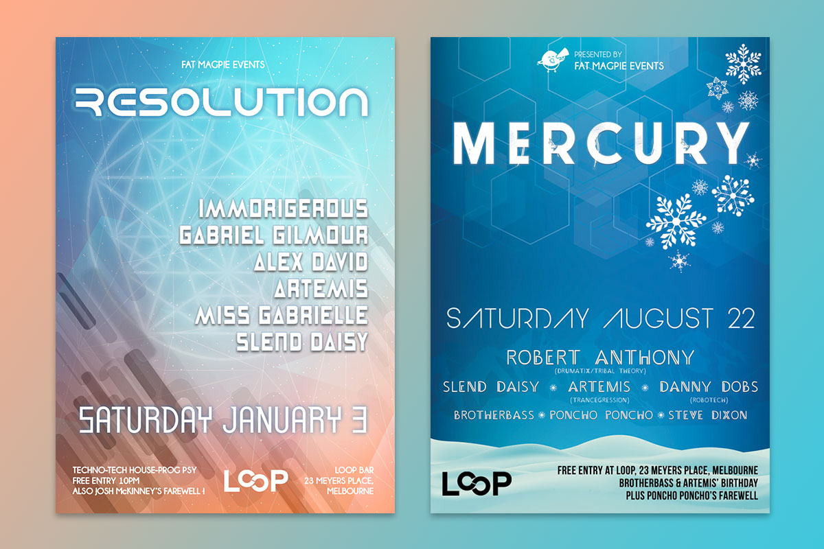 Resolution - Mercury - Fat Magpie Events - GermyDesigns